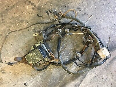1947 1948 1949 1950 1951 ford truck f1 dash cluster gauges wiring harness