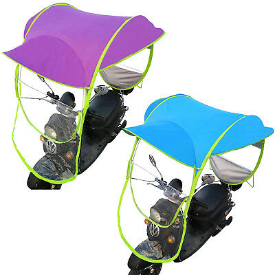 Motor Scooter Umbrella Mobility Safe Sun Shade Rain Cover Waterproof Protector