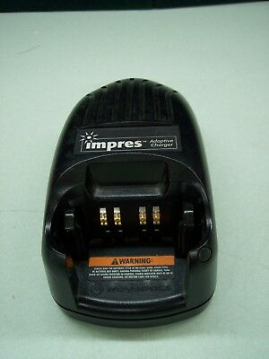 Motorola Impress Wpln4114Ar Portable Radio Desk Charger With Power Cord & Tested