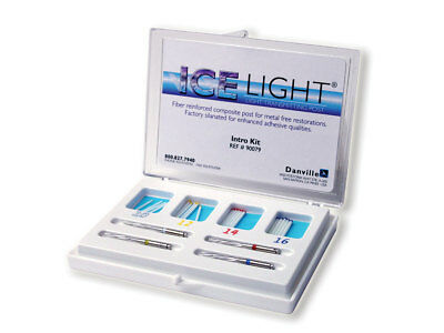 Danville 90079-01 Ice Post Integrated Composite Endodontic Posts Intro Kit