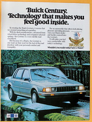 1984 Magazine Print Ad for Buick Century