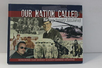 Our Nation Called Harvey County Answered Kansas Veterans Book Hardcover Pictures