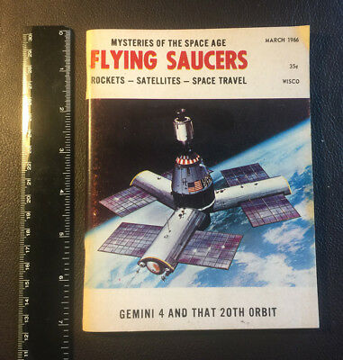 FLYING SAUCERS: Mysteries of the Space Age UFO Magazine