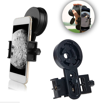 Universal Telescope Cell Phone Mount Adapter Eyepiece 25-48mm for Spotting Scope