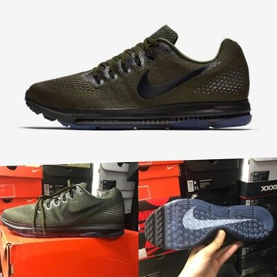 5ac472a07ea Nike Zoom All Out Low Running Shoes 878670-302 Cargo Khaki Pure Men s Size 9