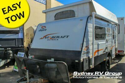 2015 Jayco Starcraft Outback White Caravan