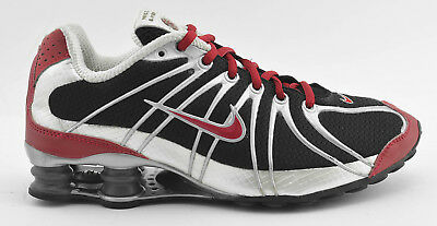 Womens Nike Shox Turbo 2006 Running Shoes Size 8.5 Black Red White 312144  991 2935f81e8