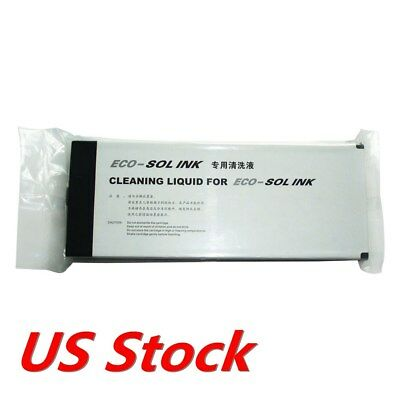 USA - Compatible ECO Ink Cleaning Solution Cleaning Liquid for ECO Solvent Ink