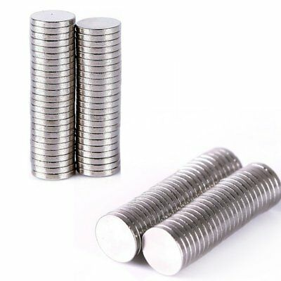 10/50/100Pcs Super Strong Round Magnets Rare-Earth Neodymium Magnet N35/N50 US