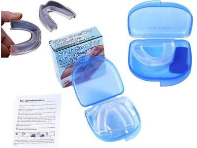 NHS Type Anti Snore Mouth Guard Sleep Mouthpiece Apnoea Stopper Stop Snoring