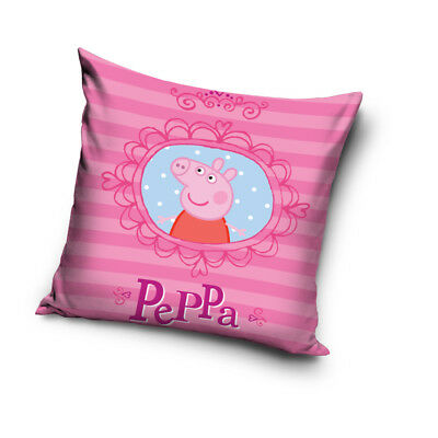 NEW PEPPA PIG Picture cushion cover 40x40cm 100% COTTON