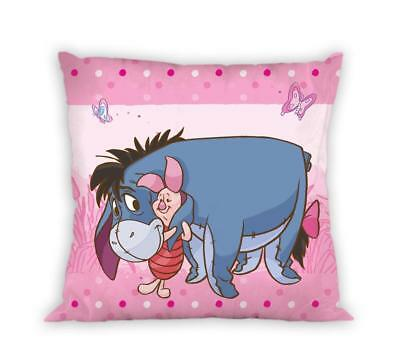 DISNEY WINNIE THE POOH Tigger Piglet Eeyore pink icushion cover 40x40cm cotton