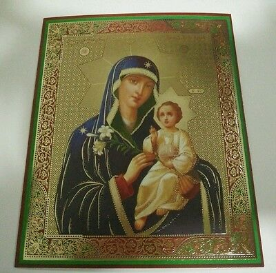 """RUSSIAN ORTHODOX  ICON  MOTHER OF GOD """"the Unfading Bloom"""""""