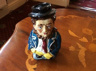 Vintage Burleigh Ironstone Sam Weller Toby Jug In Excellent Condition