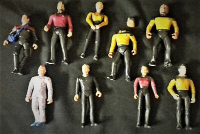 8 Stk. Star Trek Actionfiguren  Playmates 1994/1992