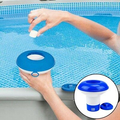 Swimming Pool Spa 5 inch Chlorine Bromine Chemical Tablet Tab Floater Dispenser