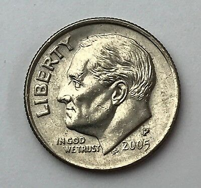 Dated : 2005 - Roosevelt - One Dime - American Coin - United States of America