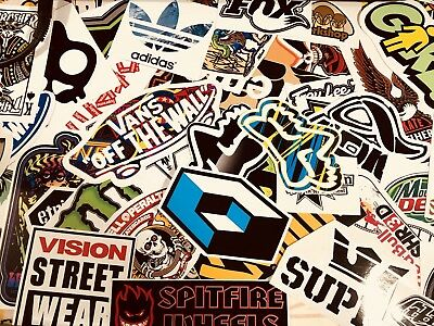 STICKERBOMB x 10 STICKER PACK SKATEBOARD SNOWBOARD SURF ENERGY DRINK MX STICKERS