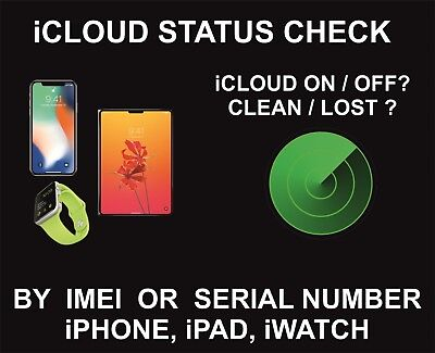 FASTEST ICLOUD ACTIVATION STATUS CHECK By SERIAL /IMEI