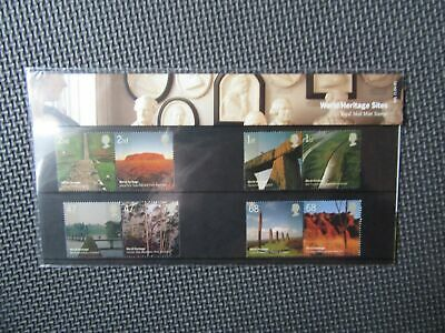 "G.B Presentation Pack ""World Heritage Sites"" Pk No.371 21/04/05"
