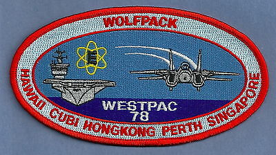 Cvn-65 Uss Enterprise Westpac 1978 Wolfpac Patch