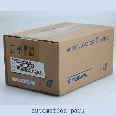 NEW 1PC IN BOX  Yaskawa SGMGH-09ACA61 Servo Motor One year warranty
