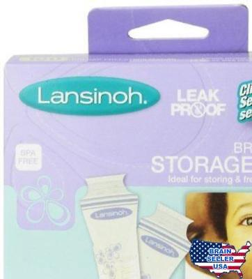 Lansinoh Breastmilk Storage Bags, 100 Count , New, Free Shipping, New, Free Ship
