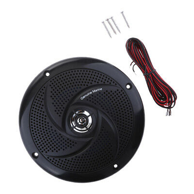 90 dB 4 Ω Audio Stereo Speakers Boat / Car Sound System - Black