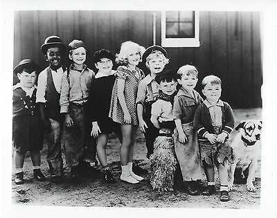 Our Gang 8X10 Photo Tv Picture Little Rascals