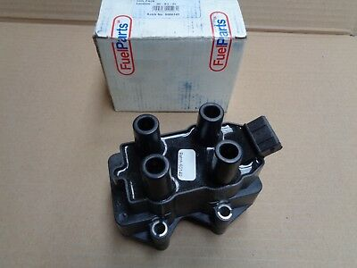 New Genuine Fuel Parts Cu1002 Ignition Coil Vauxhall Astra Calibra Vectra