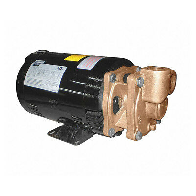 "Bronze Turbine Pump 1.5 HP 208-230/460V 1"" Inlet/Outlet - 4JPE5"