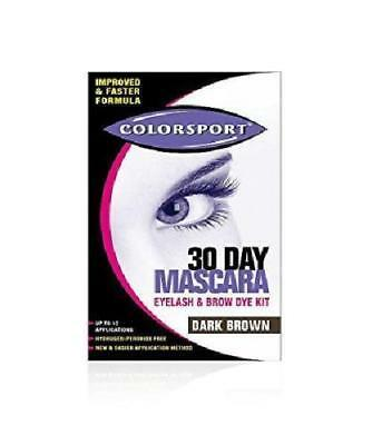 Colorsport 30 Day Mascara Brown 07/2018 EXP DATE HENCE VERY LOW PRICE
