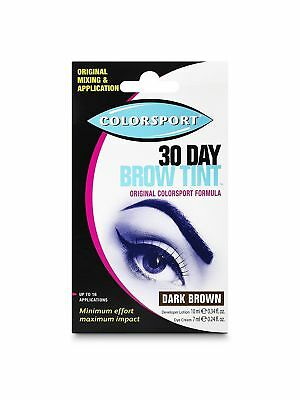 Colorsport 30 Day Brow Tint, Dark Brown LOW PRICE & FREE POSTAGE