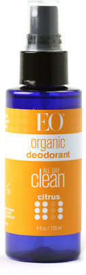Organic Deodorant Spray - Citrus, EO Products, 4 oz