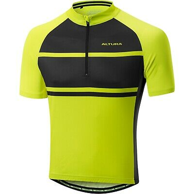 Altura Men s Airstream 2 Short Sleeve Jersey Hi-Viz Yellow Black Size Large  UK 113e11c23