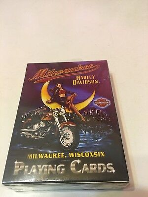 Milwaukee Harley Davidson Playing Cards 2007 NIP