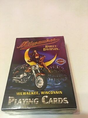 Milwaukee Harley Davisdon Playing Cards 2007 NIP