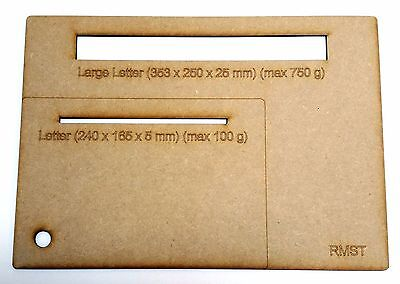 Royal Mail Sizing Guide Letters and Large Letters
