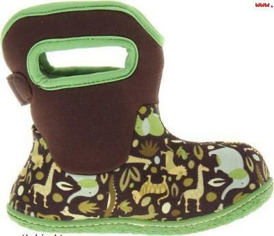 Bogs Baby Waterproof Insulated Toddler/Kids Rain Boots for Boys and Girls