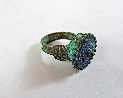 VINTAGE OLD Ancient Byzantine Ring with Patina