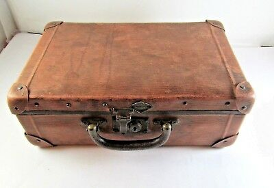 Old Wooden Box Suitcase Wood Transport Chest Box Classic Vintage Chest