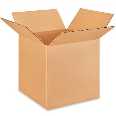 25 7x7x7 Cardboard Paper Boxes Mailing Packing Shipping Box Corrugated Carton