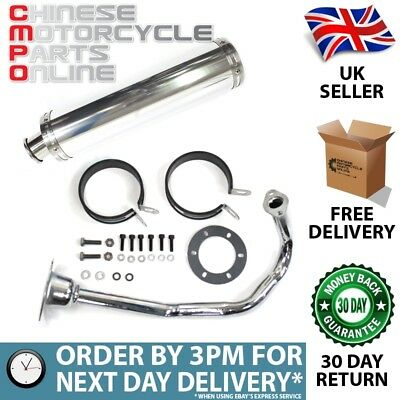Sports Exhaust 139QMB for 50cc Scooters (SPRTEX008)