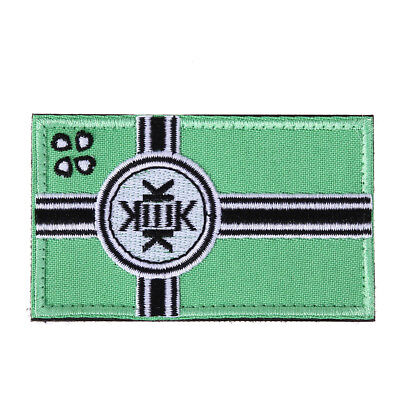 KEK Flag Tactical Hook & Loop Army Embroidery Badges Morale Embroidered Pat BEST