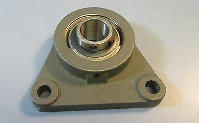 ONE NEW PEER BEARING 2 BOLT FLANGE BEARING FT 205 UC 205-16.