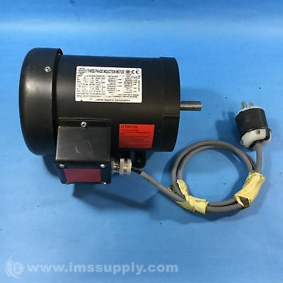 Worldwide Electric Corp. Ma134-18-56Cb Electric Motor Usip