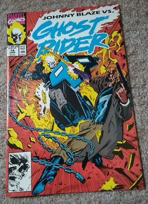 GHOST RIDER # 14 (1990)  Marvel Comics NM condition