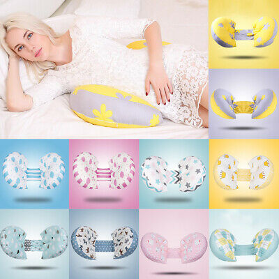 Maternity Folding Pillow Pregnancy Nursing Body Side Sleeper Support Pillow
