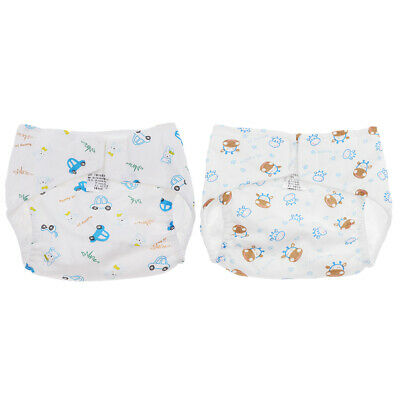 Adjustable Reusable Lot Baby Kids Boy Girls Washable Cloth Diaper Nappies