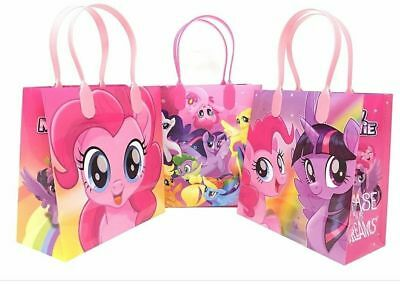 12 My little pony Birthday Party supplies Favor Goodie Gift candy Loot Bags